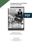 HISTÓRIAS DA BÍBLIA POUCO CONTADAS