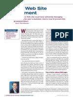 WebSiteDefacement(InternetSecurityAdvisor)