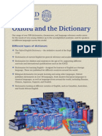 Oxford and the Dictionary [PDF Library]