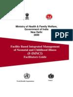 F-IMNCI Facilitator's Guide