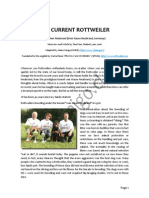 The Current Rottweiler - By Oliver Neubrand (Germany) - English
