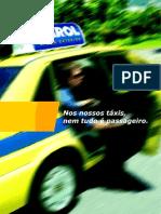 Folder - Farol Mídia Exterior | Nos nossos táxis, nem tudo é passageiro.