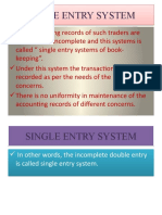 Single Entry System by muneeb sada