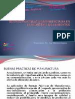 Buenas Practicas Manufactura Industria Alimentos