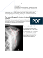 Lateral Scapula Radiography