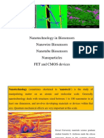 BM 519 Nanotechnology in Bio Sensors and Biosensor Market