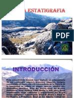 CArta estratigrafica geologia