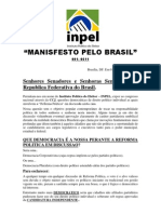 Manifesto pelo Brasil