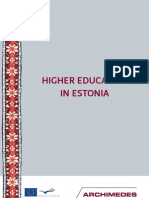 Higher Education in Estonia 2010