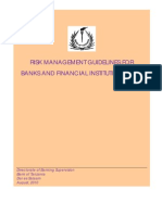 Risk Management Guidelines for Banks and Financial Institutions 2011(BoT)