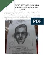 CICPC DIFUNDIÓ RETRATO HABLADO DE HOMICIDA DE SANTA CRUZ DEL ESTE