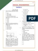 IES OBJ Mechanical Engineering 2003 Paper II