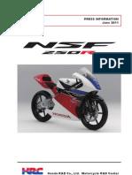 NSF250R PRESS INFORMATION