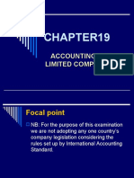 Accounting for Limited Companies I