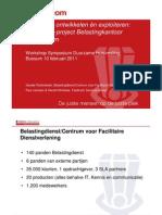 Duurzaam ontwikkelen én exploiteren Case-PPS-project Belastingkantoor Doetinchem