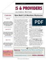 Payers & Providers California Edition – Issue of June 2, 2011