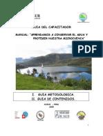Manual Del Capacitador Microcuencas