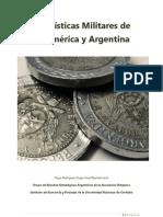 Estadísticas militares de sudamérica y la argentina