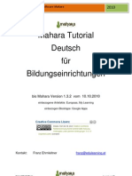 Mahara Tutorial German Ehrnleitner