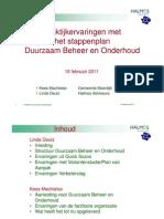 Praktijkervaring Met Het Stappenplan DBenO - Deel 1 (Halmos)