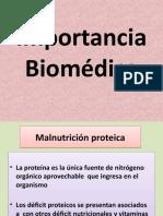 Importancia Biomédica