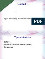 1. Tipo datos