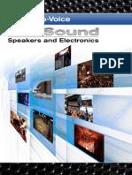 Ev Prosound 2011-Catalog