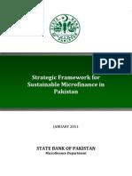 Strategic Framework Micro Finance 24 Jan 2011
