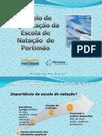 Modelo de organização da escola de natação PTM