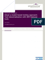Smartest Ing; Adopt a Model-Based Testing Approach With IBM Rational Tools