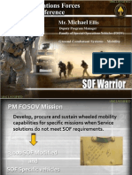 SOF Warrior - SOFFOV Brief SOFIC 2011