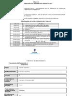 Secuencia Didactica Program Etructurada