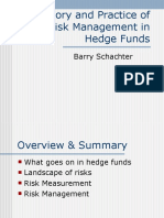 Hedge Fund (2v2 - Theory and Practice of Risk Management in Hedge Funds)