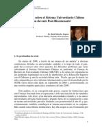 Sistema Universitario Chileno-2010