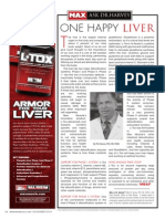 "[ASK DR. HARVEY]  ""ONE HAPPY LIVER"""