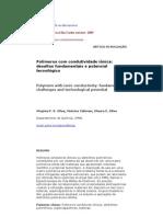 Polímeros - Polímeros com condutividade iônica desafios fundamentais e potencial tecnológico