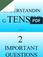 Understanding Tenses