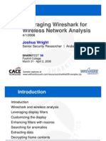 Leveraging Wireshark for Sniffing Wireless Networks