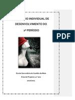 3 - Relatório de Desenvolvimento Individual de Joana Sousa