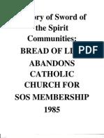 History of SOS Communities