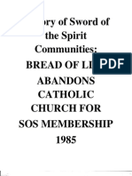 History of SOS Communities