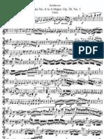 II -onata N° 6 in A Major 'Violin''