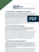100 Propuestas Para Fortalecer La Democracia-el Mundo