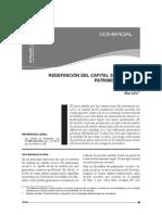 """Apuntes para una redefinición del capital social y patrimonio social""""- Carlos Alva"""