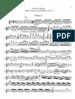 II -Violinkonzert I,II