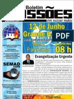 Boletim missões em nossas mãos - junho 2011