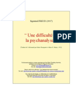 Difficulte Psychanalyse