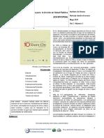 CIPHA Volume 3, Issue 3, Spanish