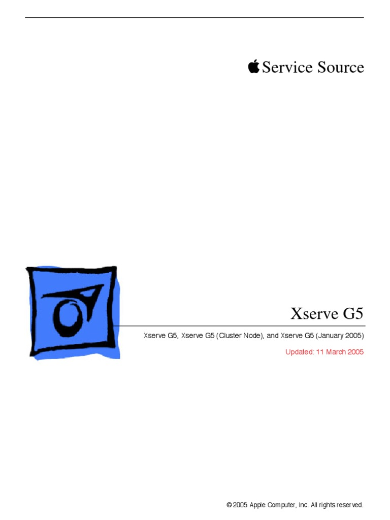 Xserve G5 Service Manual | Booting | Electrostatic Discharge