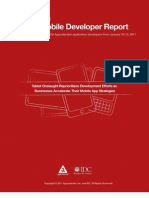 Appcelerator IDC Q1 2011 Mobile Developer Report